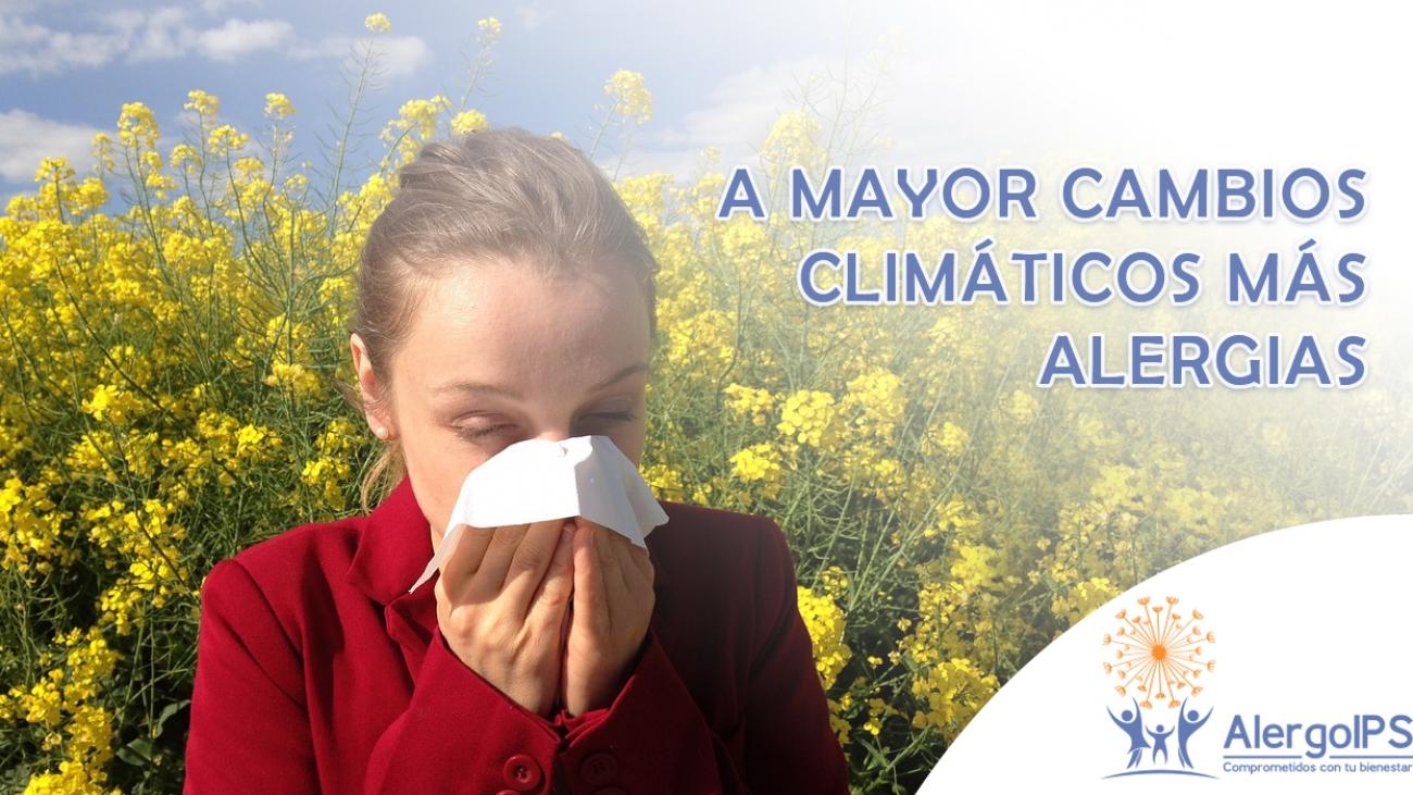 Cambio climatico - AlergoIPS