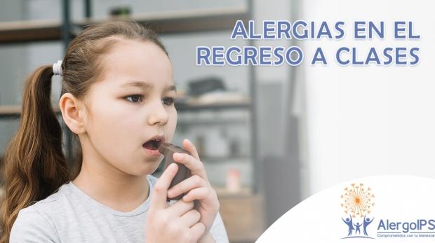 Alergias comunes en el regreso a clases - AlergoIPS