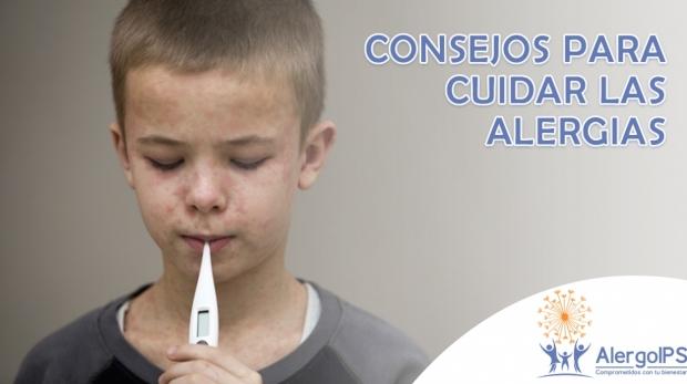 Consejos para cuidar las alergias - AlergoIPS